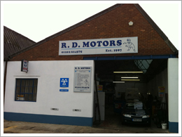 RD Motors MOT and Servicing