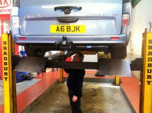 Mot for light commercial vehicle in Poole