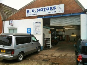 RD Motors MOT Servicing and repairs